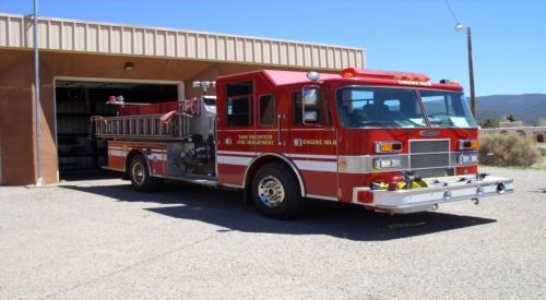 Town of Taos Fire Department -- Station 3 -- Engine 8