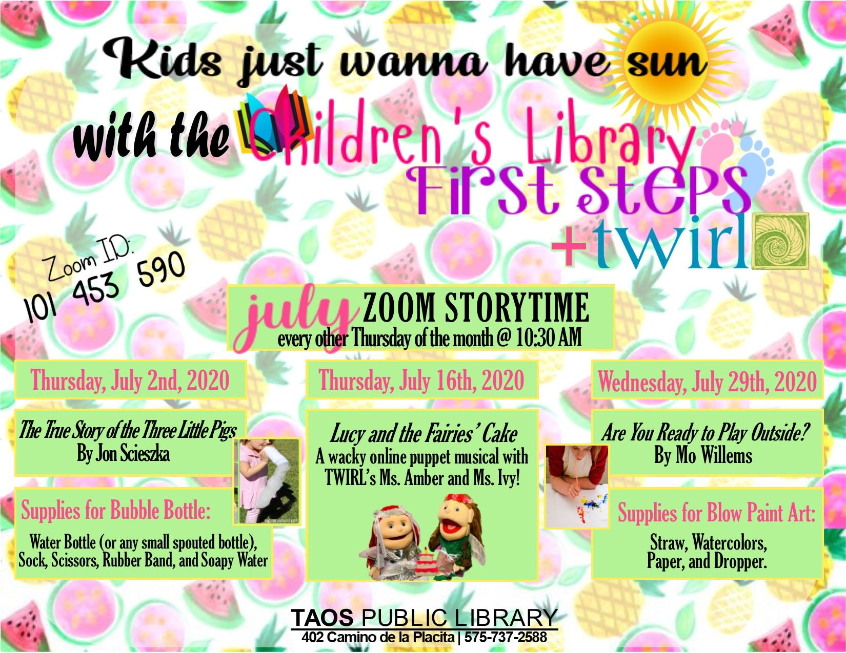 July Story Time
