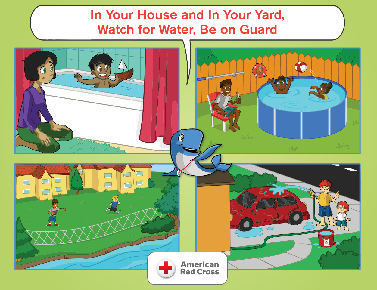 In Your House and In Your Yard, Watch for Water, Be on Guard
