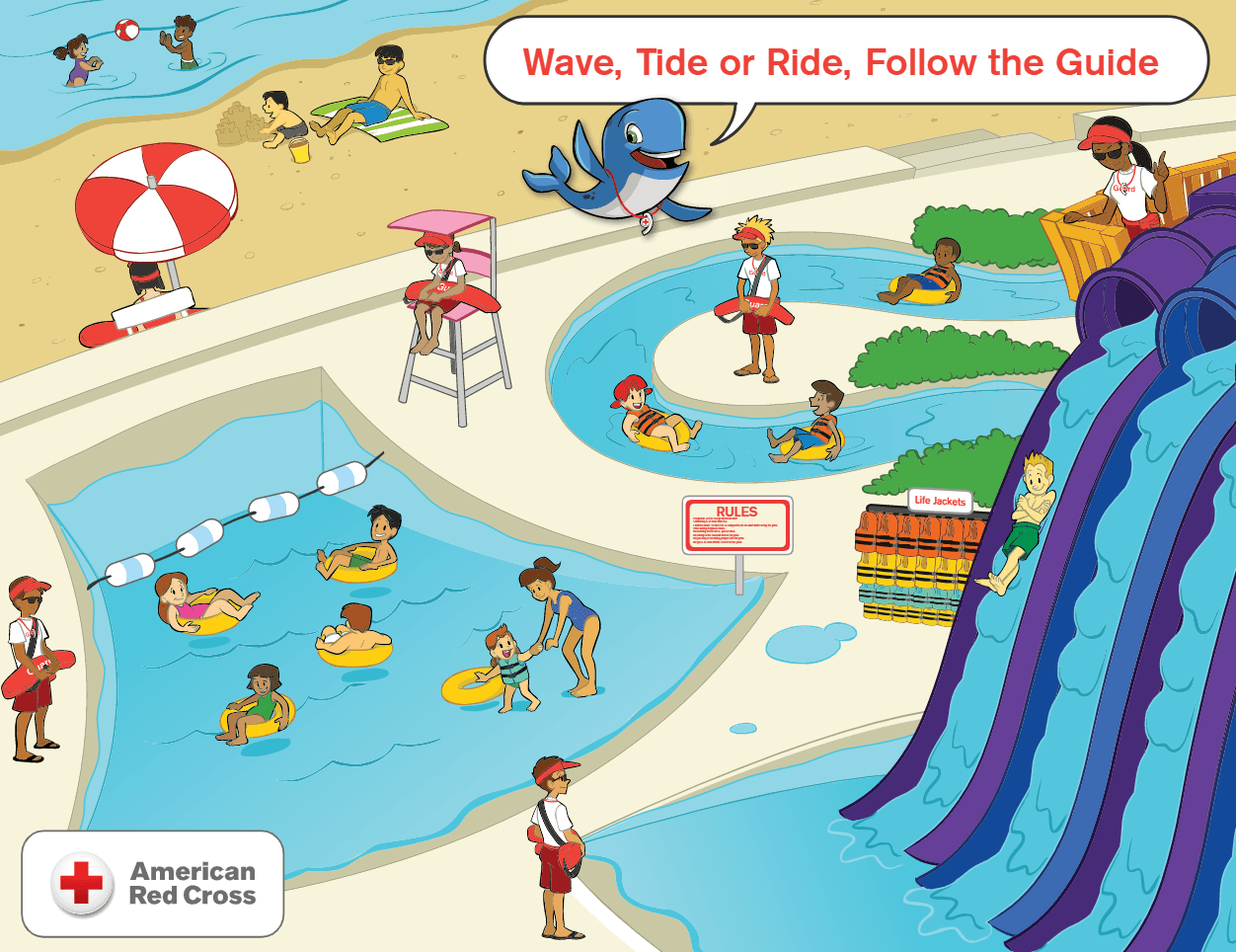 Wave, Tide or Ride, Follow the Guide